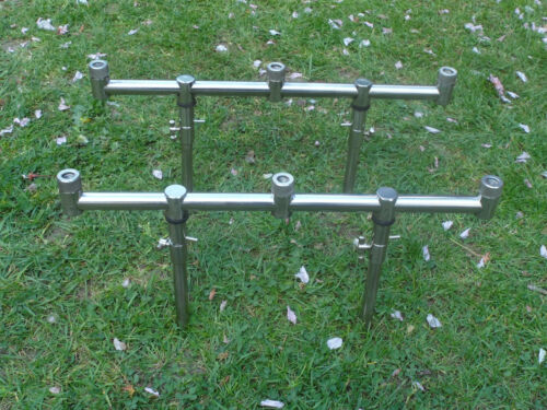 2 x 3 Rod stainless steel goal post Buzz Bars & 4 x 1525cm bank sticks.