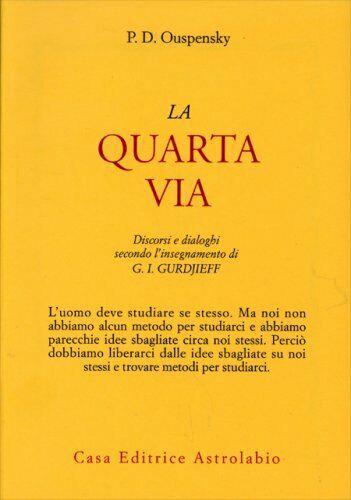 LIBRO LA QUARTA VIA - PETER OUSPENSKY