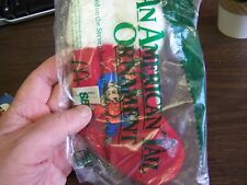McDONALDS -  AN AMERICAN TAIL STOCKING ORNAMENT - MINT IN BAG