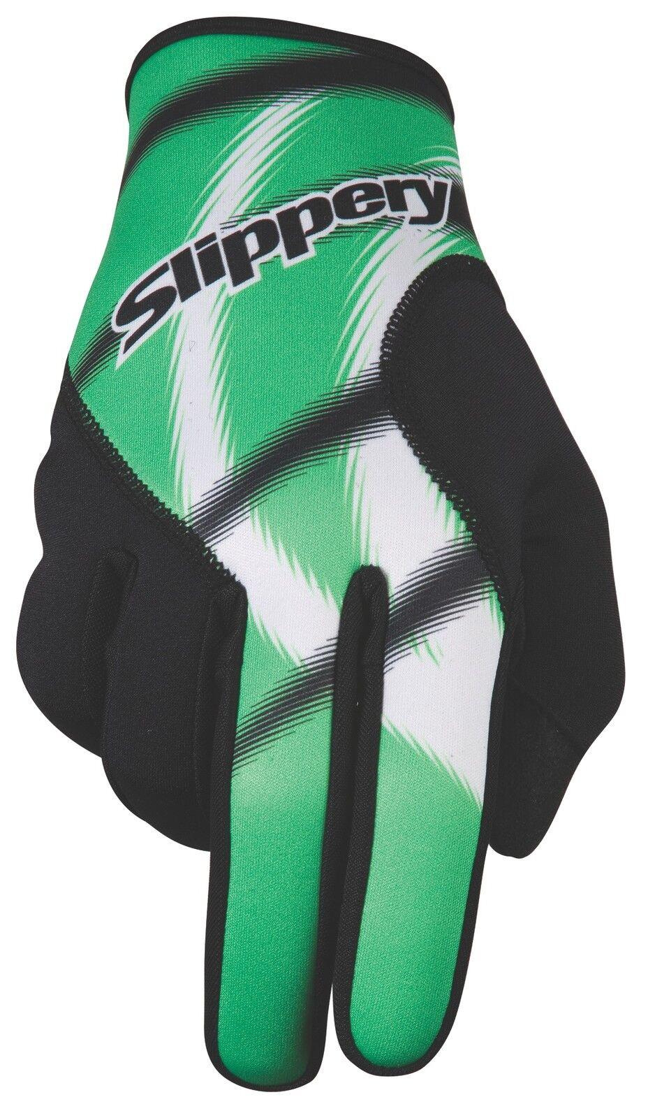 Handschuhe Neopren Magneto Handschuhe Grün - Slippery - Jet Ski - PWC