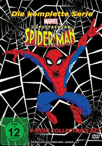 THE-SPECTACULAIRE-SPIDER-MAN-die-complete-Serie-TV-SPIDERMAN-4-Boite-DVD-Neuf