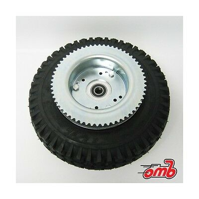 "6"" AZUSA Tri-star Wheel - Mini Bike or Go Kart Tire Wheel & 72 Sprocket #35"