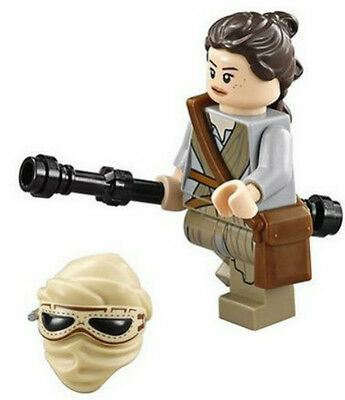 NEW LEGO STAR WARS REY MINIFIG figure 75099 force awakens minifigure ep. 7
