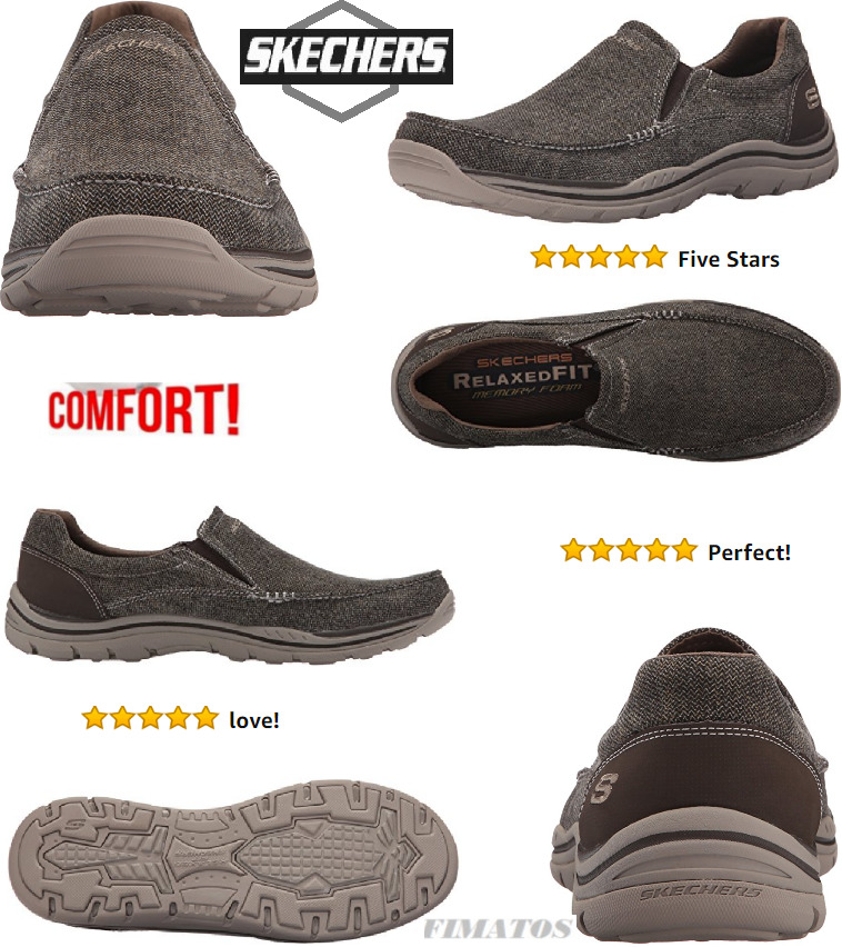 lo stile classico Skechers Uomo Memory Foam Expected Expected Expected Avillo Relaxed-Fit Slip-On Loafer,10 D(M)US  il più alla moda