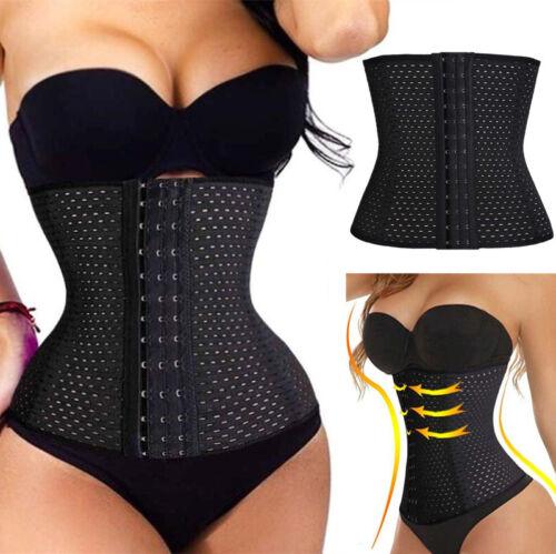 Breathable Waist Tummy Girdle Belt Sport Slim Body Shaper Trainer Control Corset