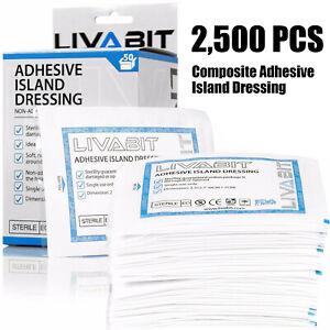 "LIVABIT 2.3x2.7/"" Sterile Island Dressing Bandage Venom Poison Extractor Pump"