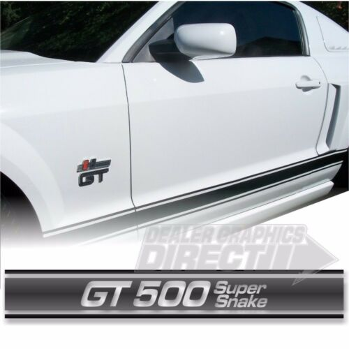 Ford Mustang Factory Style Rocker Panel Stripes 5 Styles Designed for All Years