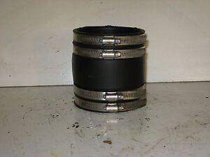 """MERCRUISER, VOLVO, 3"""" EXHAUST BOOT WITH STAINLESS CLAMPS"""
