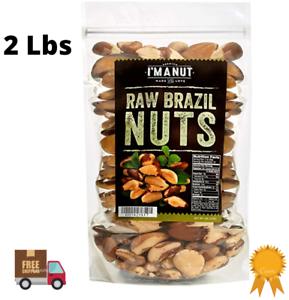 Fresh Raw Brazil Nuts Organic No Shell, Premium, Whole, Natural, Non