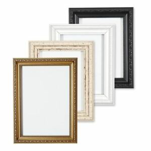 Ornate-Picture-Frame-Shabby-Chic-Picture-frame-photo-frames-White-Gold-or-Black