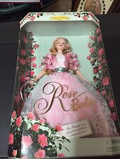 Rose Barbie Doll Collector Edition 1st In A Series 1998 22337