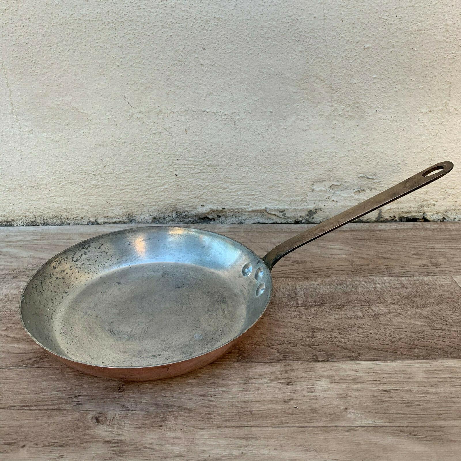Sartén Culinair cobre francés hecho en Francia CHOMETTE favor 14061918