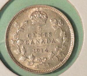 1914-Canada-Silver-5-Cents-INV-S-264