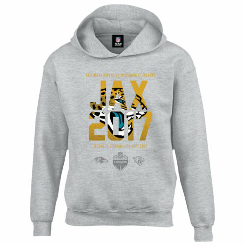 B41 Kids 9-10 years Jacksonville Jaguars London Games 2017 Team Oth Hoodie