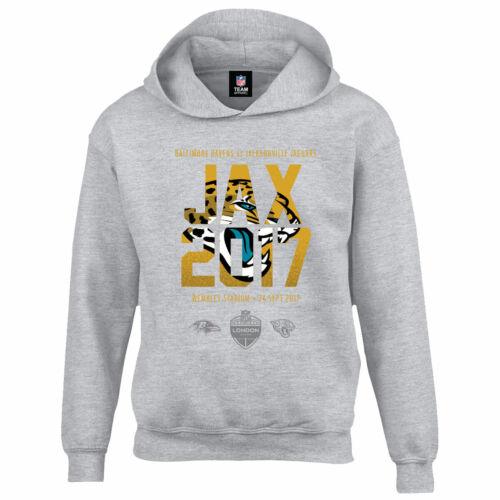 B41 Kids 9-10 years Jacksonville Jaguars London Games 2017 Team Oth Hoodie