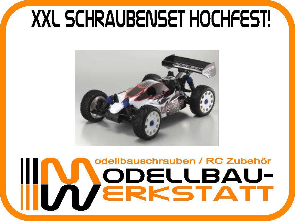 XXL Schrauben-Set Schrauben-Set Schrauben-Set Stahl hochfest Kyosho Inferno NEO   ST Race Spec screw kit cab440