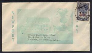 LIBERIA-U-S-1933-MOROVIA-OFFICIAL-SERVICE-COVER-TO-GLENDALE-CALIF