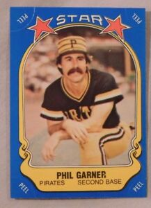 Details About 1981 Fleer Star Sticker Phil Garner Pirates Baseball Card
