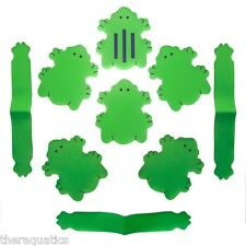 Mommy's Helper Tub Water Temps 6 Frogs Froggy Safe Water Bath Non Slip Strips