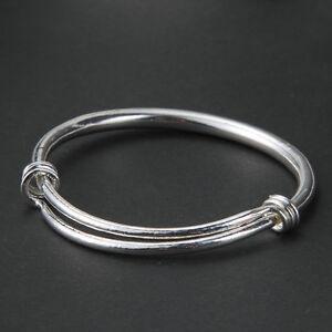 Women-039-s-Simple-Tibetan-Silver-Metal-Cuff-Bangle-Bracelet-Adjustable-Gift-Jewelry