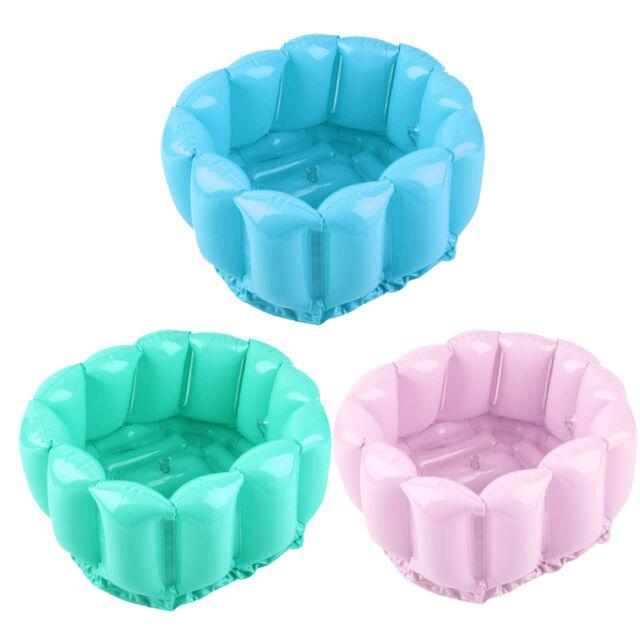 Foot Feet Soak Bath Inflatable Basin Wash Spa Home Use Pedicure Care Relax SV
