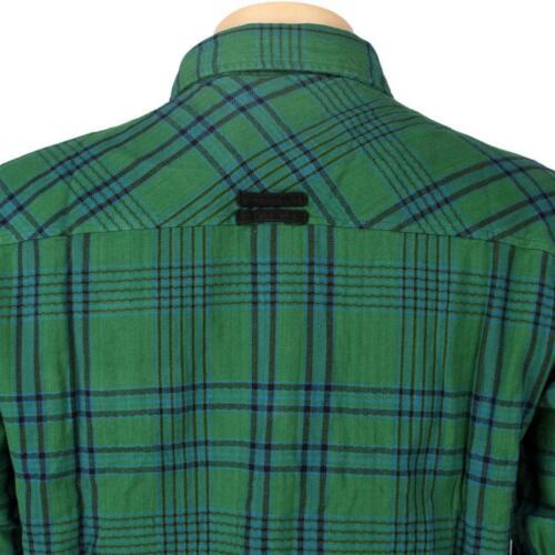 $43.99 JSLV Goodtimes Flannel Long Sleeve Shirts pine MWV8001PINE