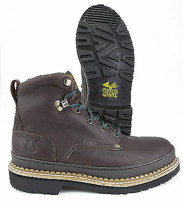 Georgia Boot Giant G_6374, Brown Leather ST EH Work Boot