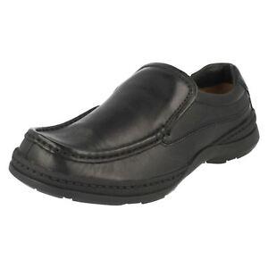 Nero Slip Line Free Clarks Pelle Scarpa On 7vPxE