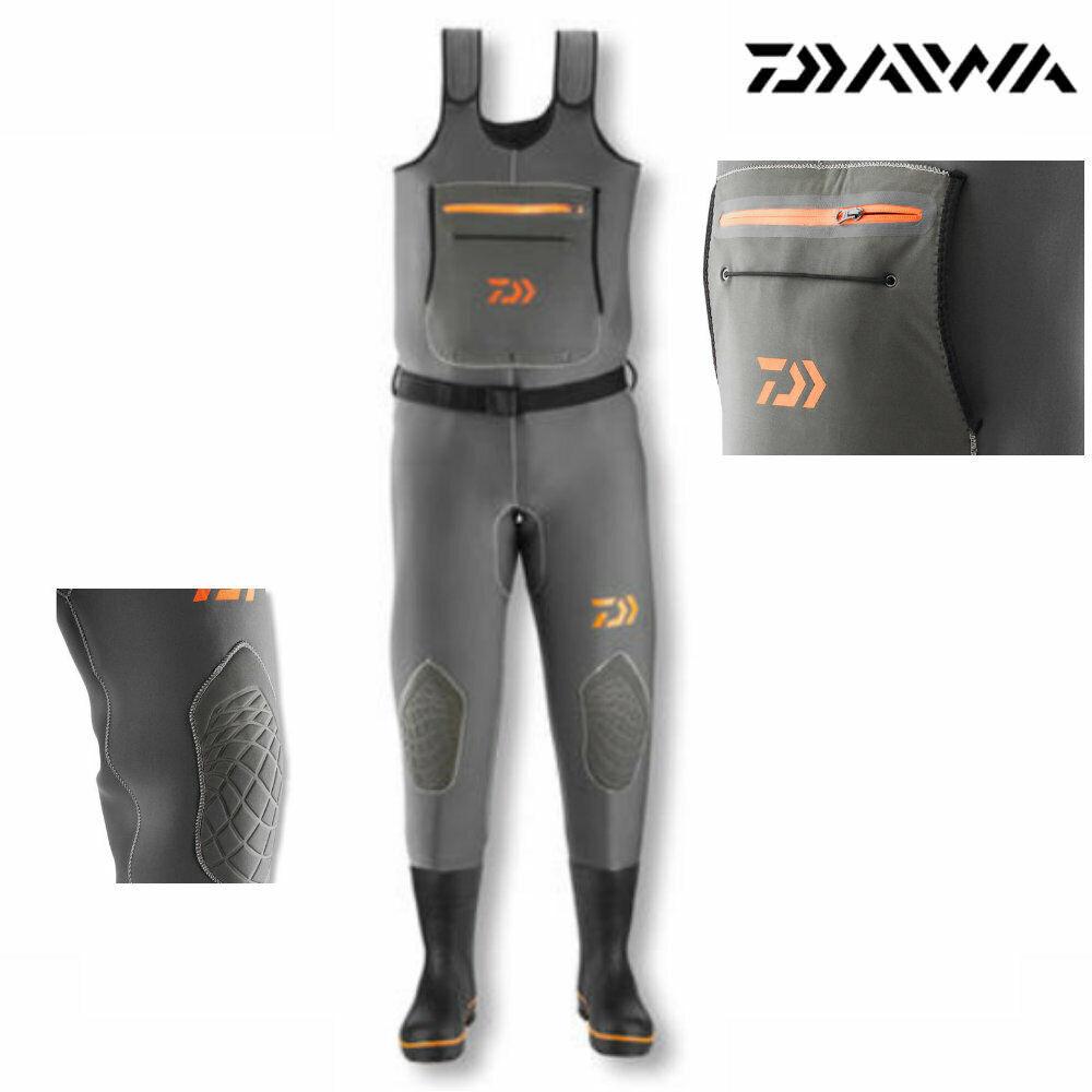 DAIWA Dvec Super Flex Neoprene Impermeabili diuominiioni per la selezione Watt stagno Pantaloni Pantaloni