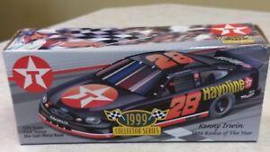 1999 1:24 scale Kenny Irwin Texaco Collector Series Die Cast Bank NIB Rookie Car