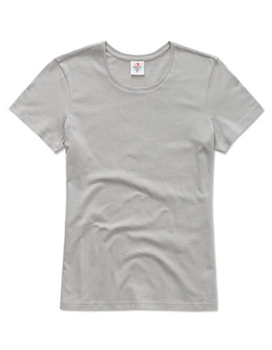 Lady Fit T-Shirt Rundhals Kurzarm S-XXL Stedman Classic Women NEU