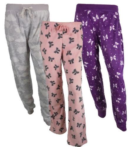 Ladies stores micro fleece pyjama pants nightwear from size 8 up to size 20