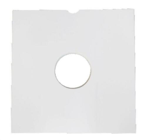 "12"" Vinyl Card Record LP 150 Sleeves Album Covers WHITE"