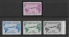ITALIA 1961 SERIE CPL.+ GRONCHI ROSA N. 921 ** GOMMA INTEGRA FIRMATO RAYBAUDI