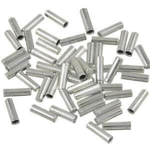 Bike-Bicycle-Shifter-Brake-Gear-Inner-Cable-Tips-End-Caps-Crimps-Ferrules-100x-Y