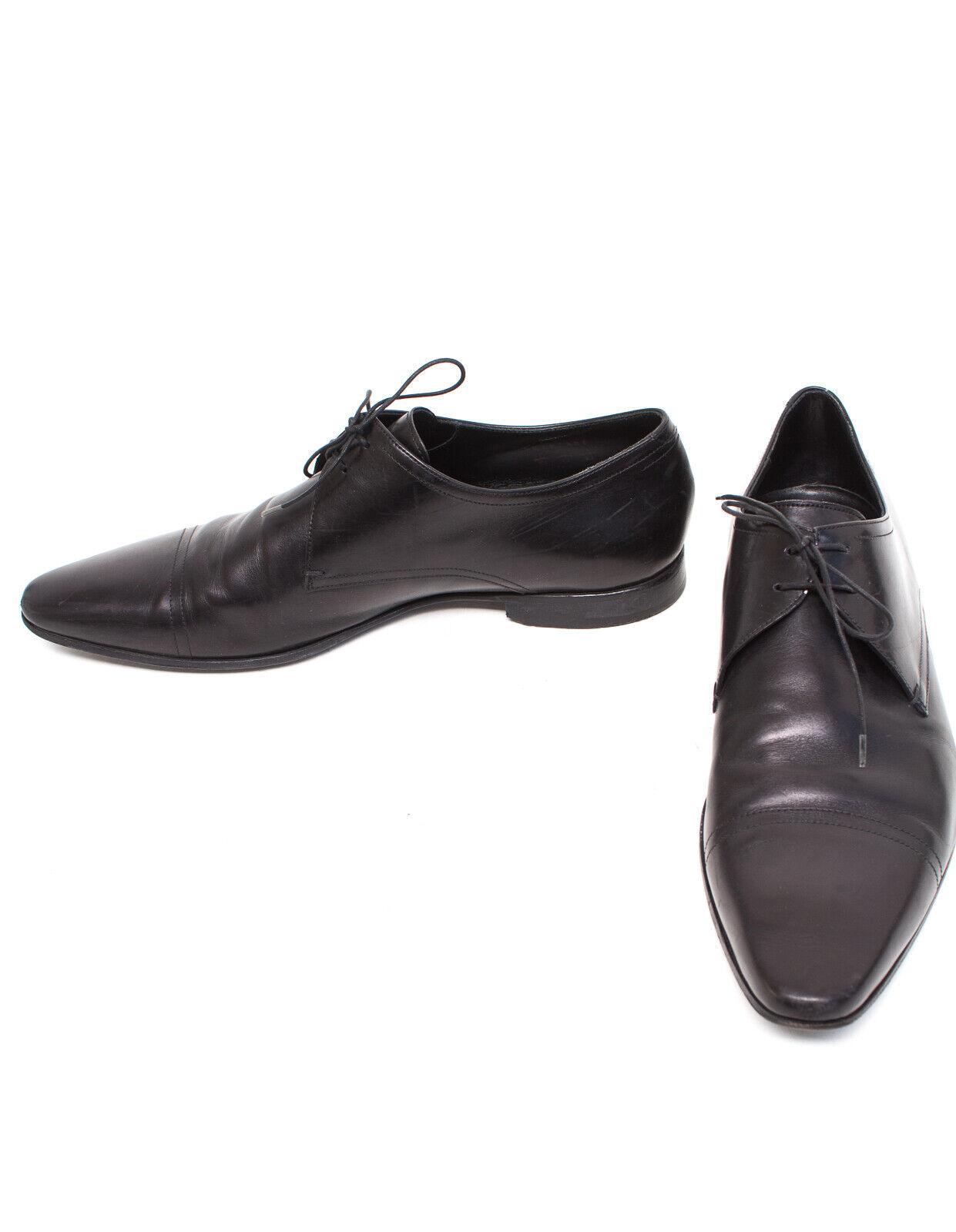 prendi l'ultimo Hugo BOSS SCARPE UOMO TG 10 EU 44-45 scarpe Scarpe Scarpe Scarpe Basse Pelle Nera  prezzi più convenienti