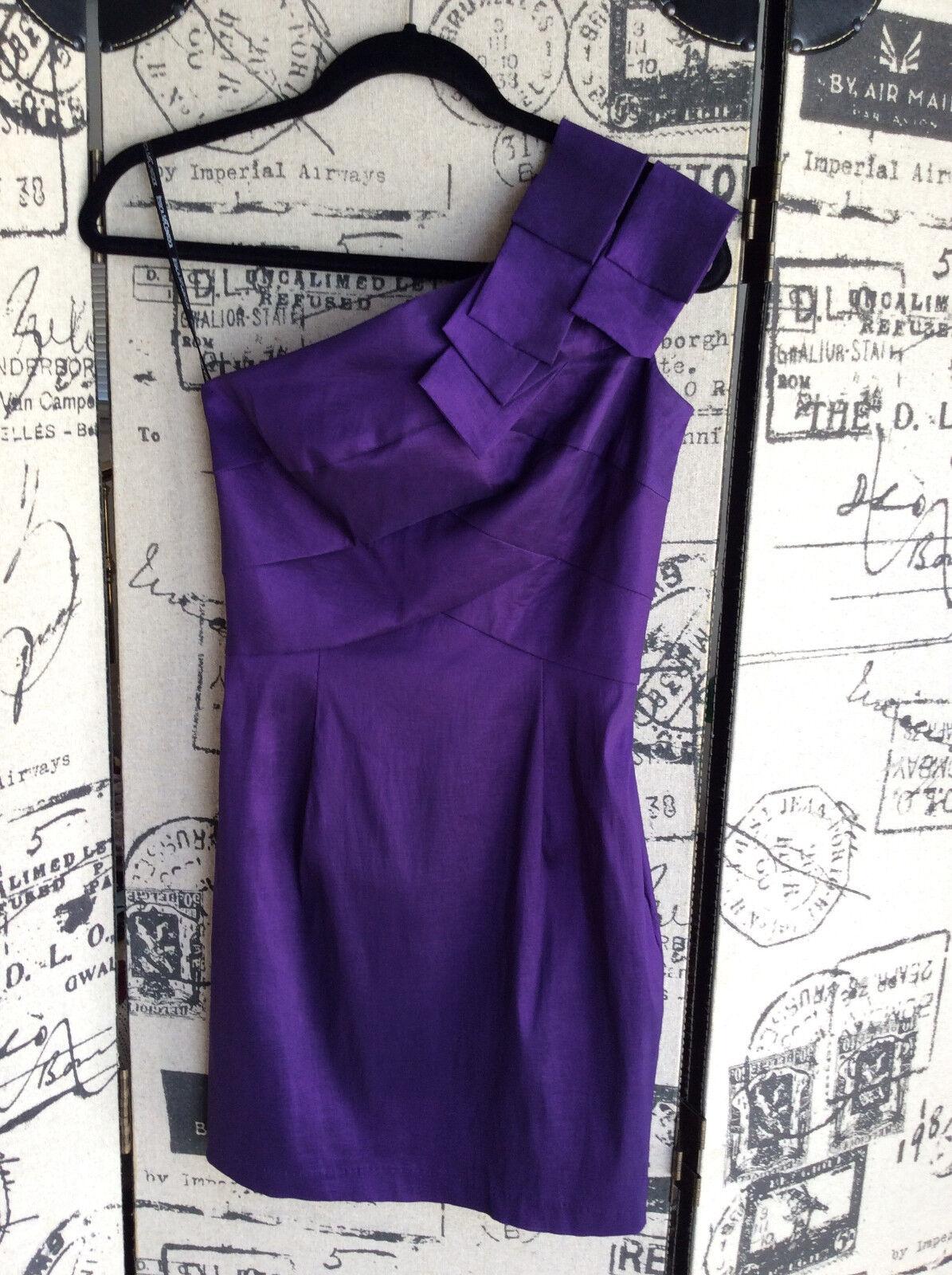 Jessica McClintock lila Dress Größe 2