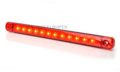 Umrissleuchten Seitenbeleuchtung Begrenzungsleuchte Weiß Rot LED 12//24 Volt