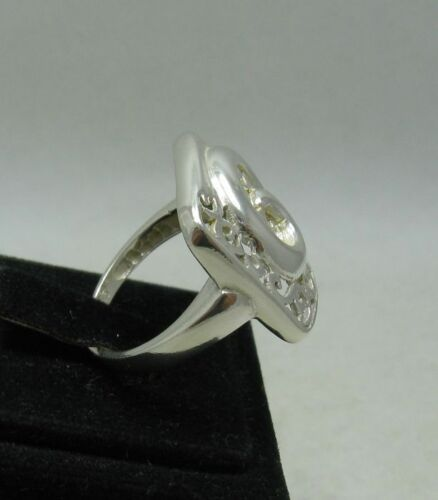 STYLISH STERLING SILVER RING SPIRAL SOLID 925 NEW SIZE 4-11 EMPRESS