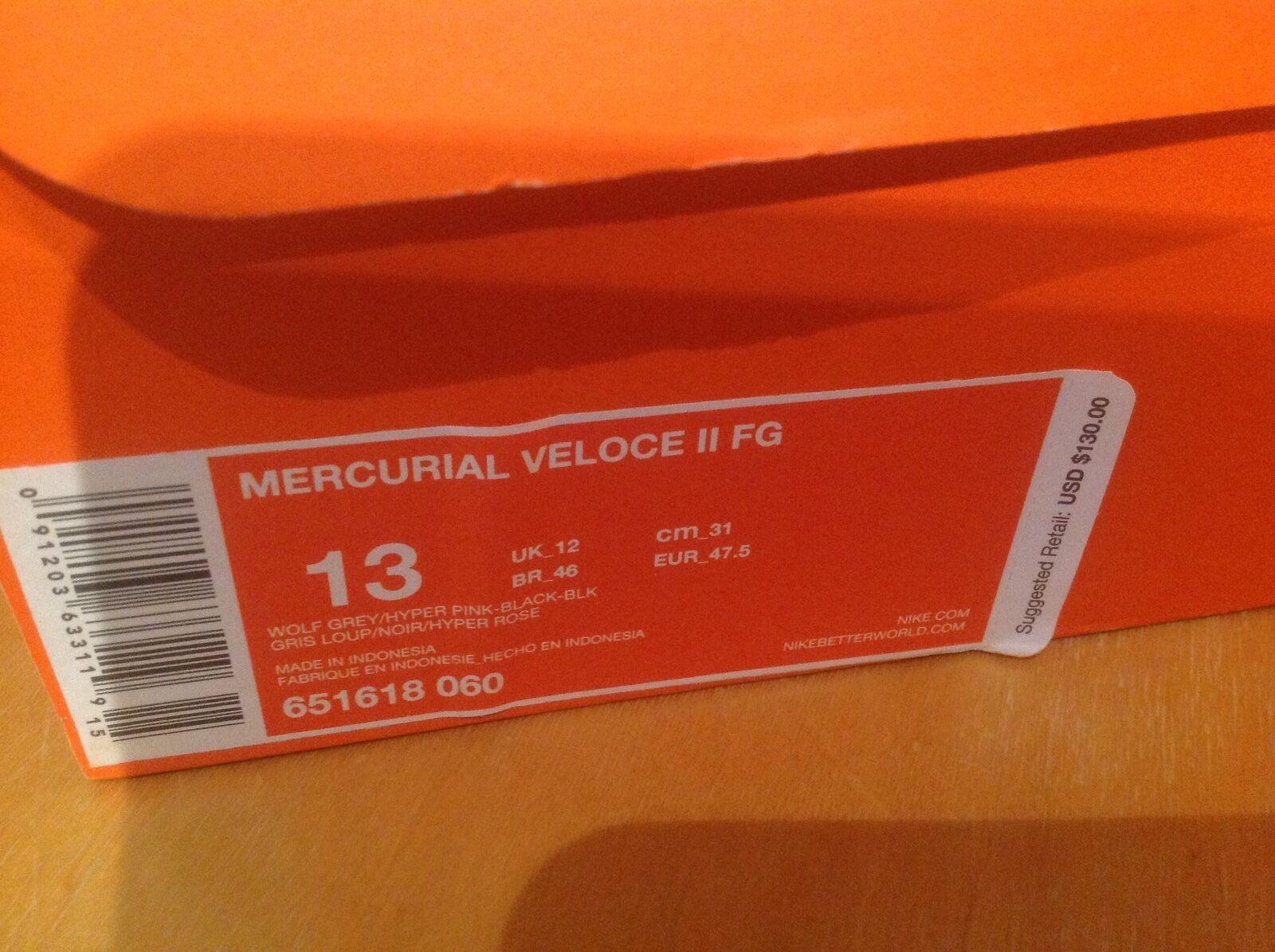 Le scarpe 13 nike picchi noi dimensioni 13 scarpe volubile veloce ii fg in box 130 dollari al minuto 90052f