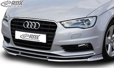 RDX Frontspoiler VARIO-X für AUDI A3 8V, 8VA Sportback, 8VS Limousine,8V7 Cabrio