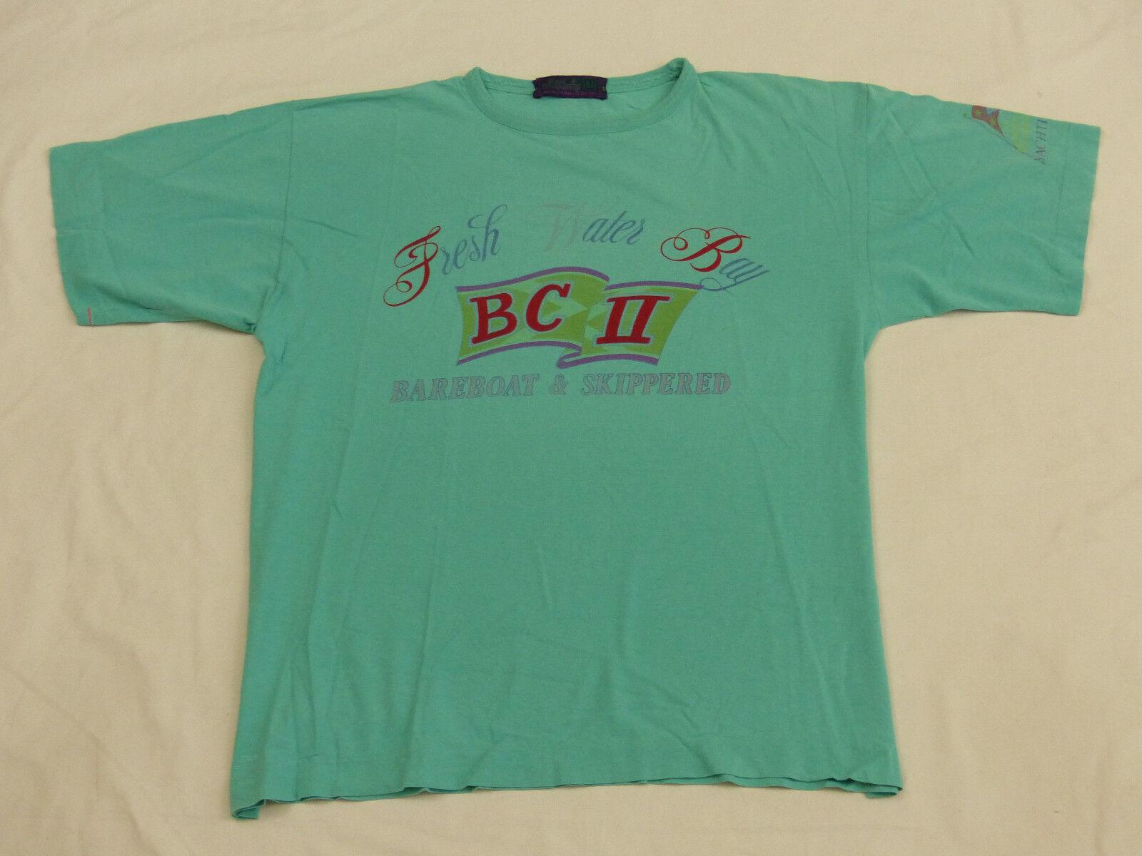 Best Company Casual T shirt     Fresh Water Bay noleggiatore skipperosso   Taglia: XL   rarità 41de07