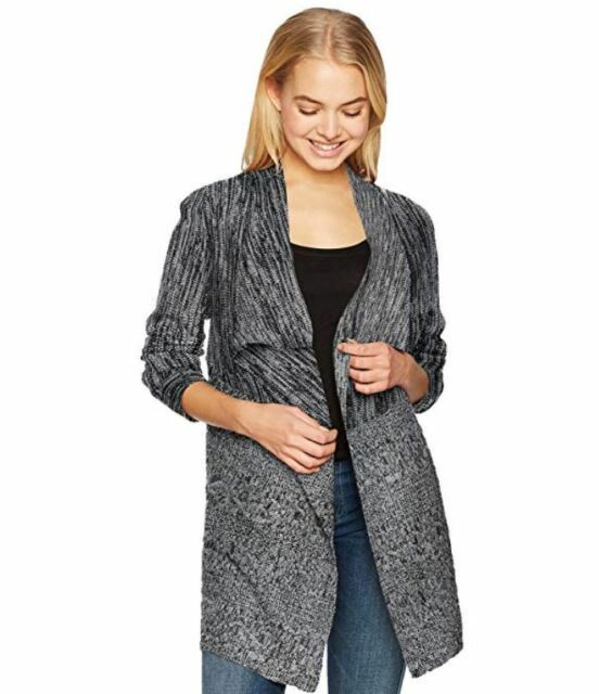 Juniors Byer Womens Tie Front Sweater A