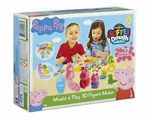 Peppa-Pig-Form-amp-Play-3D-Figur-Hersteller-Spielzeug-Activity-Set-mit-5-Masse
