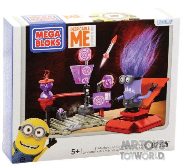Mega Bloks Despicable Lab Playset El Machos Lab
