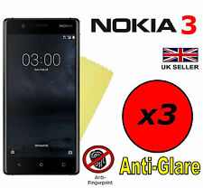 3x HQ MATTE ANTI GLARE SCREEN PROTECTOR COVER SAVER FILMS GUARDS FOR NOKIA 3