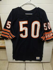 new concept 63f80 855a6 Details about Vintage Sand-Knit NFL Chicago Bears Mike Singletary Size 44  Football Game Jersey