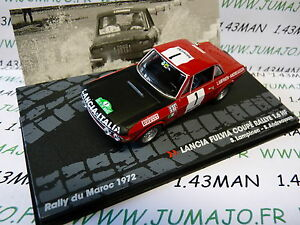 RIT36M-1-43-IXO-altaya-Rallye-Maroc-1972-Lancia-Fulvia-coupe-1-6-HF-n-119