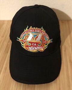 Hot-Wheels-27th-Collectors-Convention-Hat-Cap-2013-Black