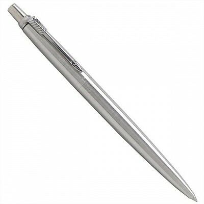 Parker jotter ball pen  stainless steel chrome trim no box new SS CT stylo biro
